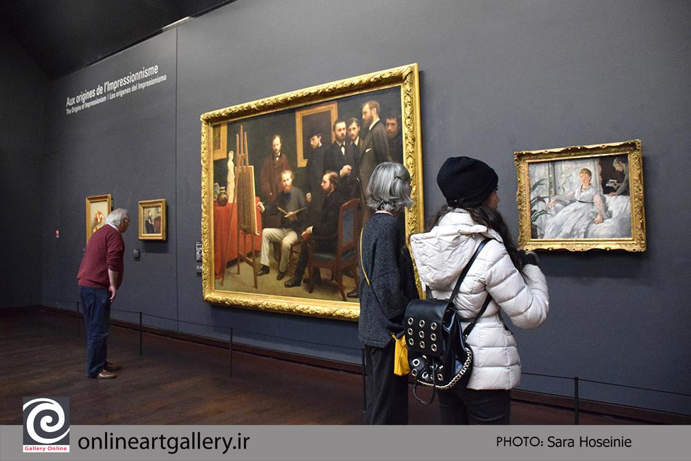 گزارش تصویری نقاشی های موزه d`Orsay پاریس (بخش هشتم)