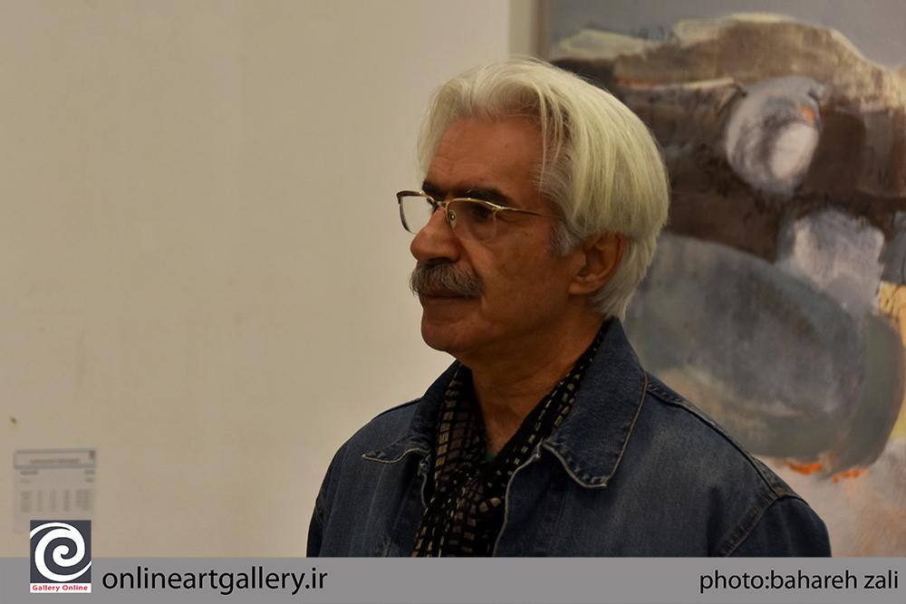 زندگی سه گانه هنرمند؛ یادداشتی از علی فرامرزی نقاش و منتقد در روزنامه شرق
