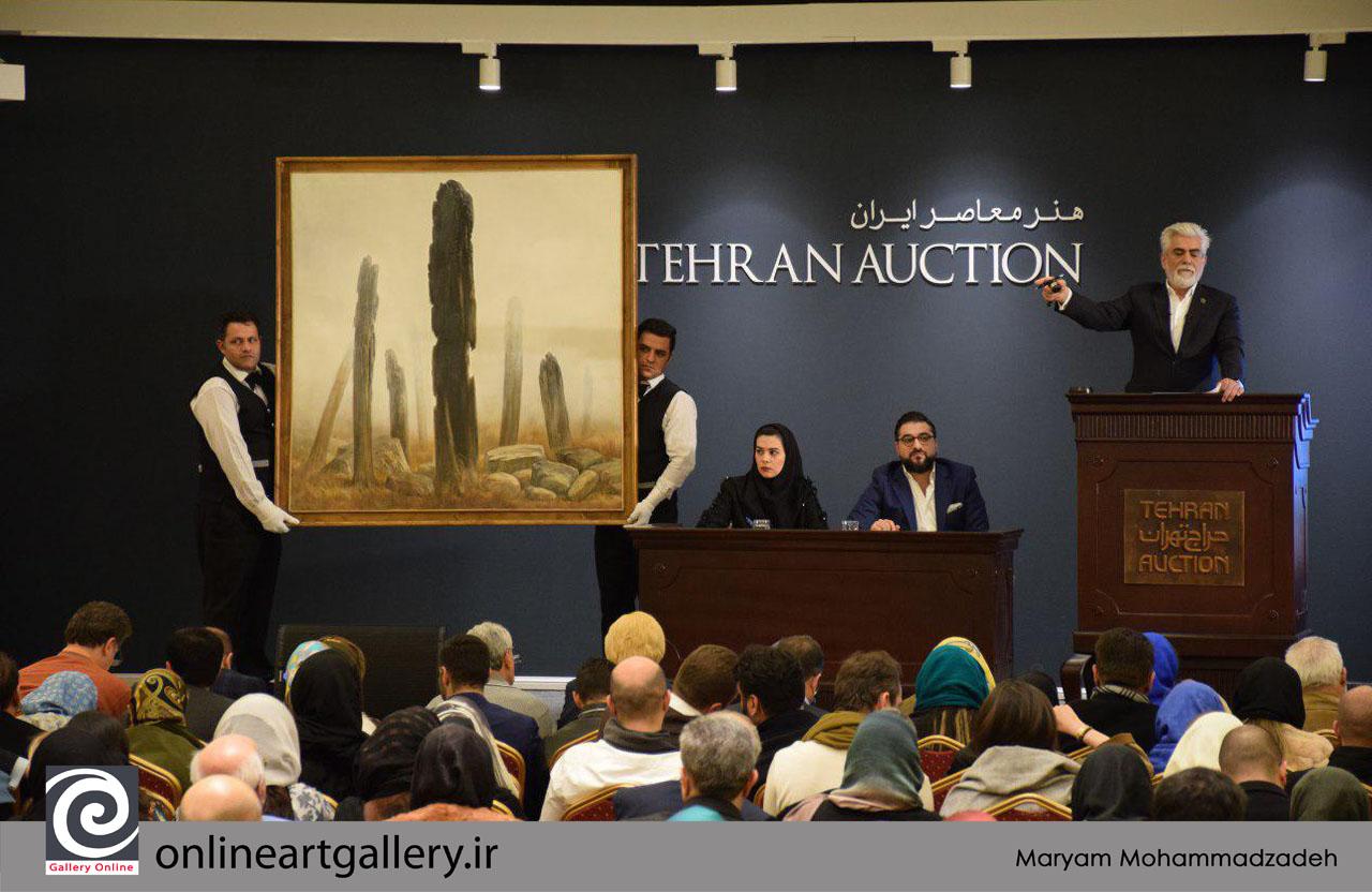 گزارش تصویری اختصاصی گالری آنلاین از دهمین دوره حراج تهران (بخش دوم)