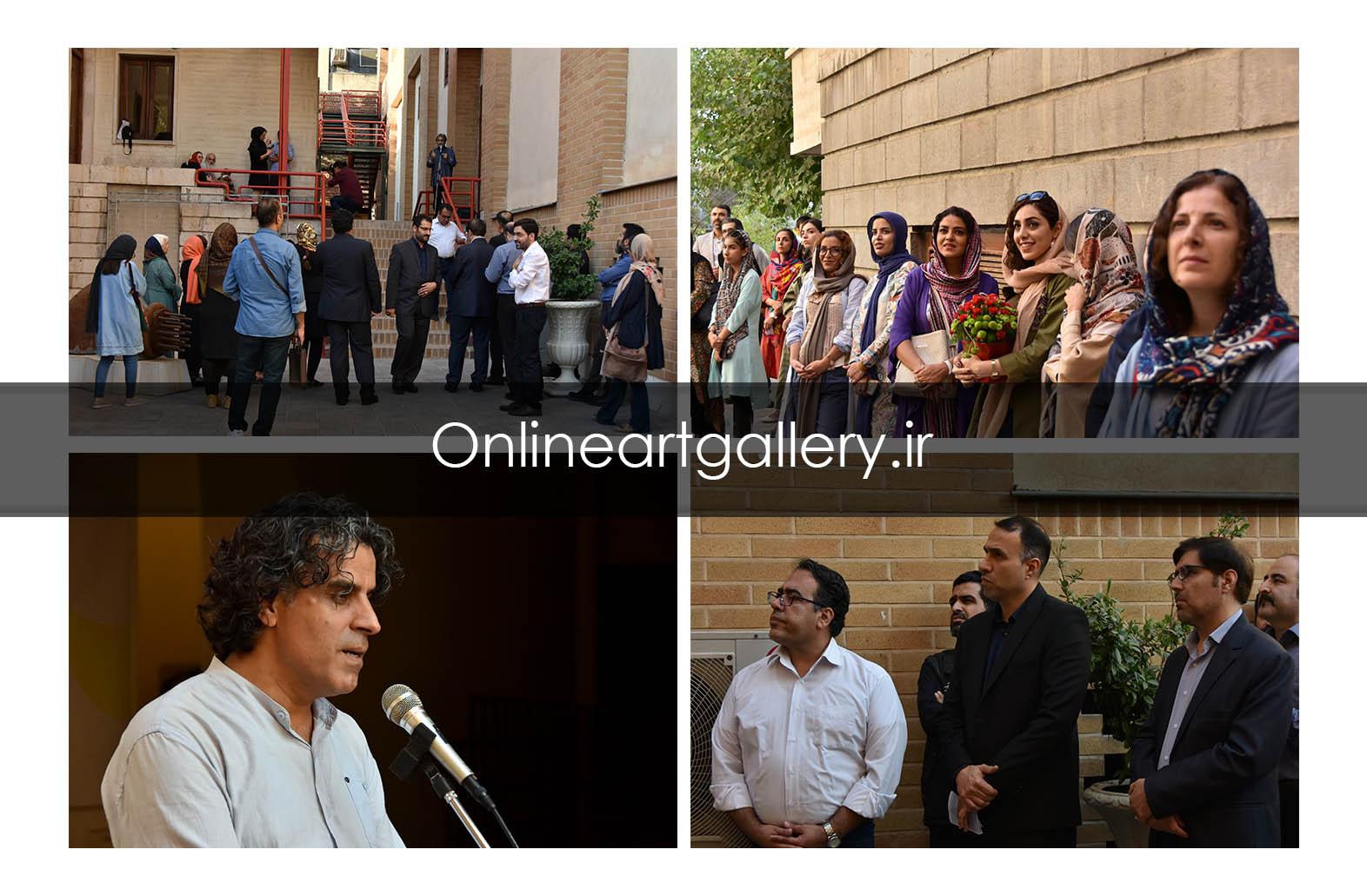نمایشگاه نقاشان نوگرای البرز در موسسه صبا افتتاح شد