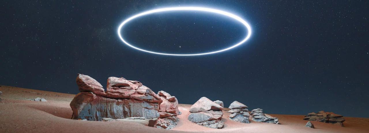 شیوه ای برای ایجاد مسیرهای نوری در عکاسی