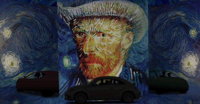 امکان بازدید از نمایشگاه «ونگوگ» از داخل خودرو