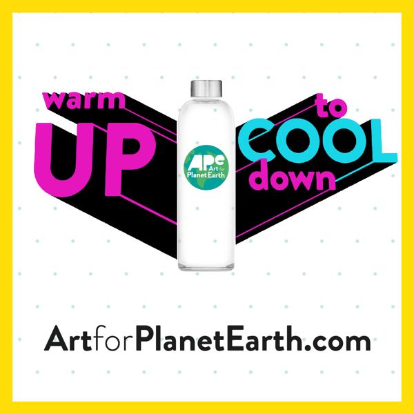 فراخوان مسابقه طراحی بطری آب Art for Planet Earth
