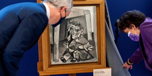 تابلوی «پیکاسو» در ازای مالیات بر ارث اهدا شد