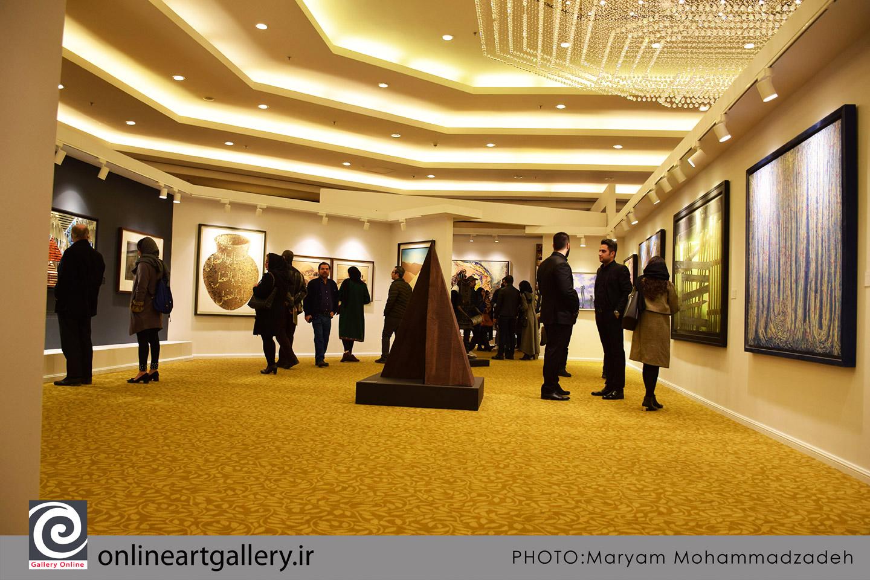 گزارش تصویری نمایشگاه آثار دهمین دوره حراج تهران (بخش دوم)