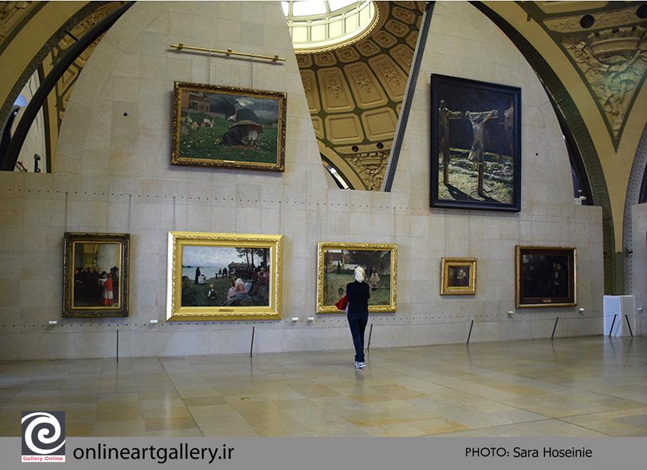 گزارش تصویری نقاشی های موزه d`Orsay پاریس (بخش چهاردهم)