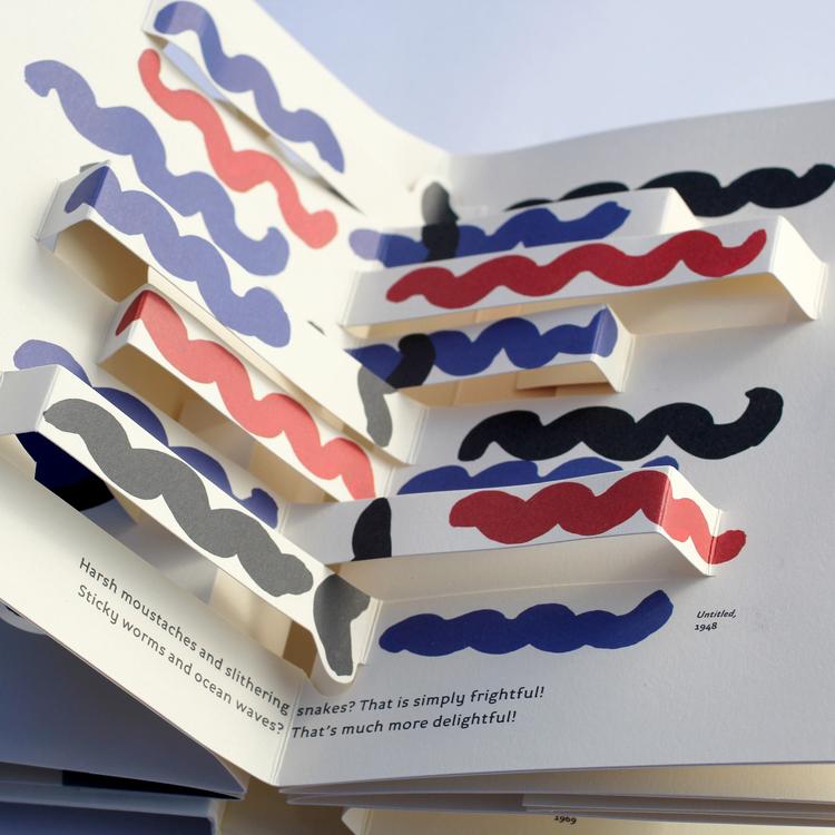 کتابی با رنگ های درخشنده آثار Sonia Delaunay
