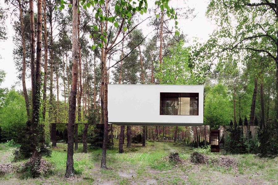 طراحی خانه ای با توهم بصری
