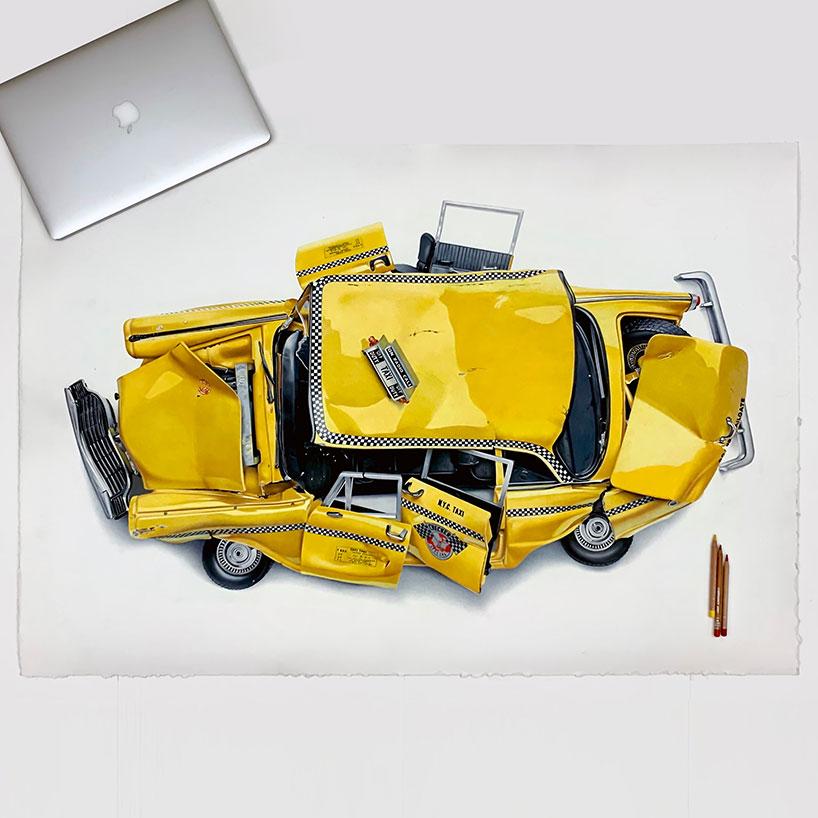 بازتعریف طراحی ماشین توسط هنرمند ایتالیایی