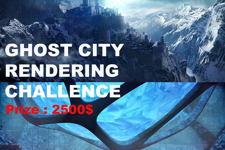 رقابت معماری Ghost City Rendering