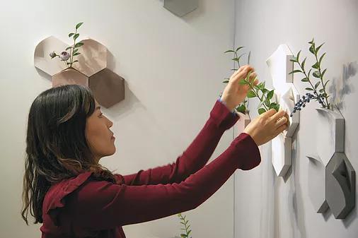 نگاهی به طراحی خلاقانه گلدان