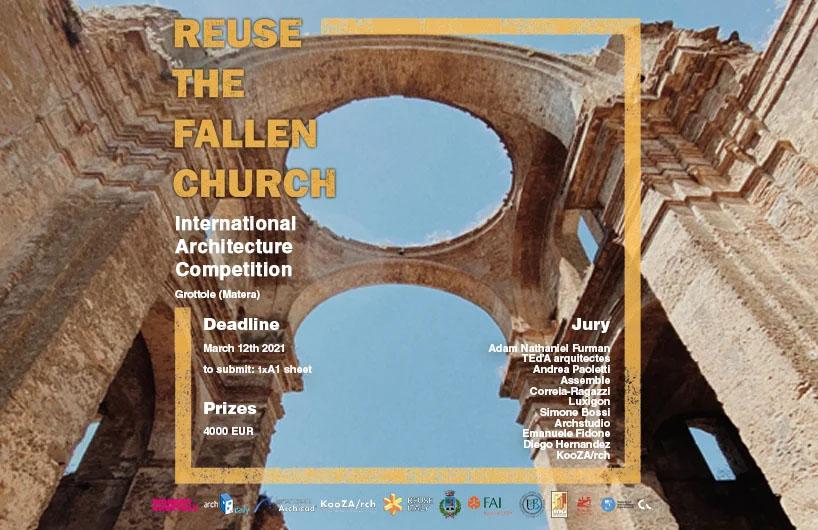 فراخوان مسابقه بین المللی معماری بازسازی کلیسا Grottole Matera