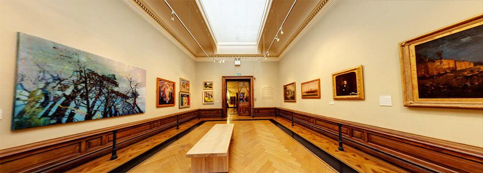 تصویر 360 درجه Crawford Art Gallery