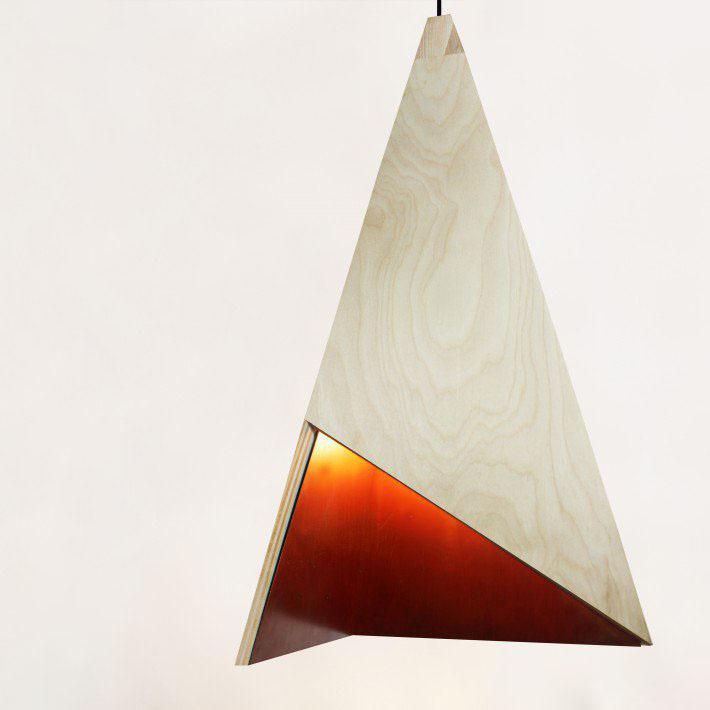 طراحی لامپ مثلث توسط A.Legawiec & O.Kiedrowicz