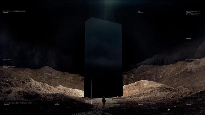 اثری با ترکیب هنر و معماری، هوش مصنوعی و باستان شناسی