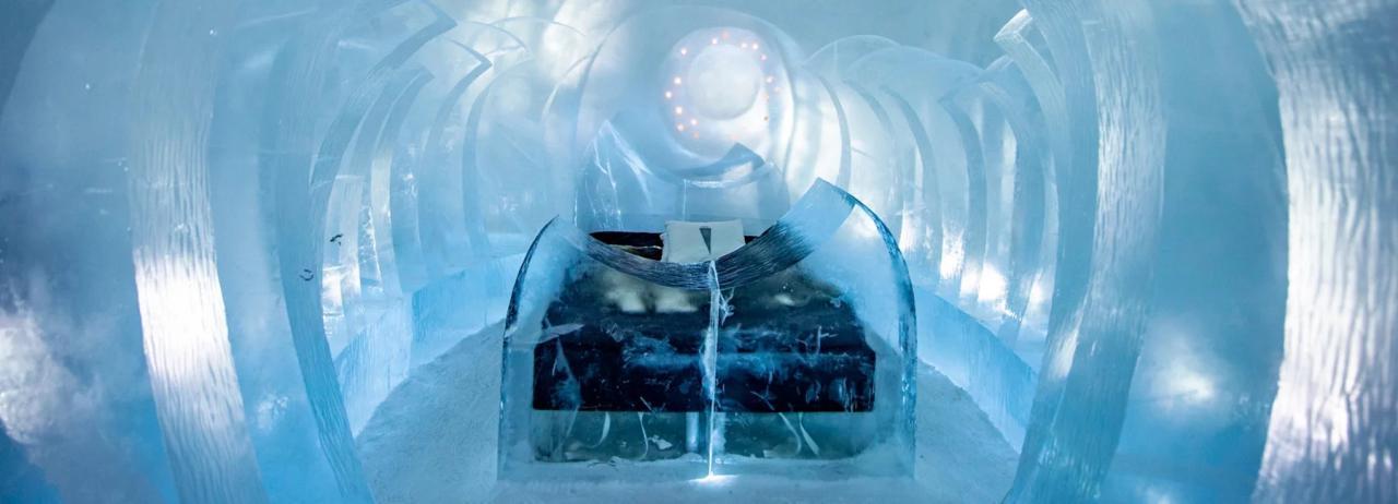 قدم به داخل مجموعه های هنری در هتل یخی شماره 30 بگزارید