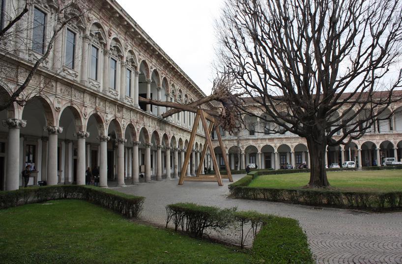 استودیو معماری PiuArch با ساخت مدلی در دانشگاه میلان، خاطره جنگل از بین رفته Stradivari را زنده نگه داشت