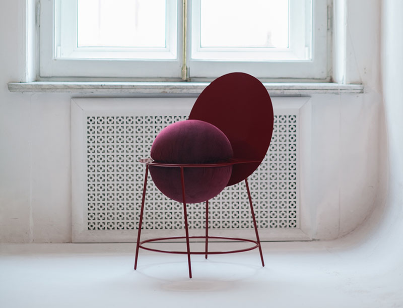 دو نیمکره به مثابه یک صندلی