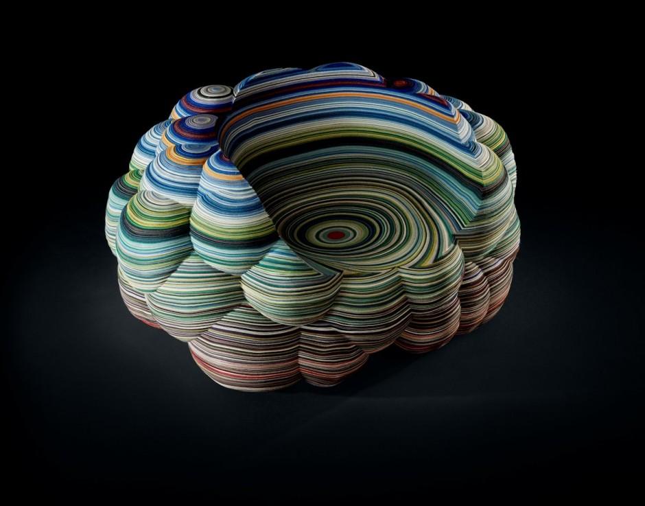 طراحی خلاقانه صندلی با لایه هایی از ابر توسط Richard Hutten