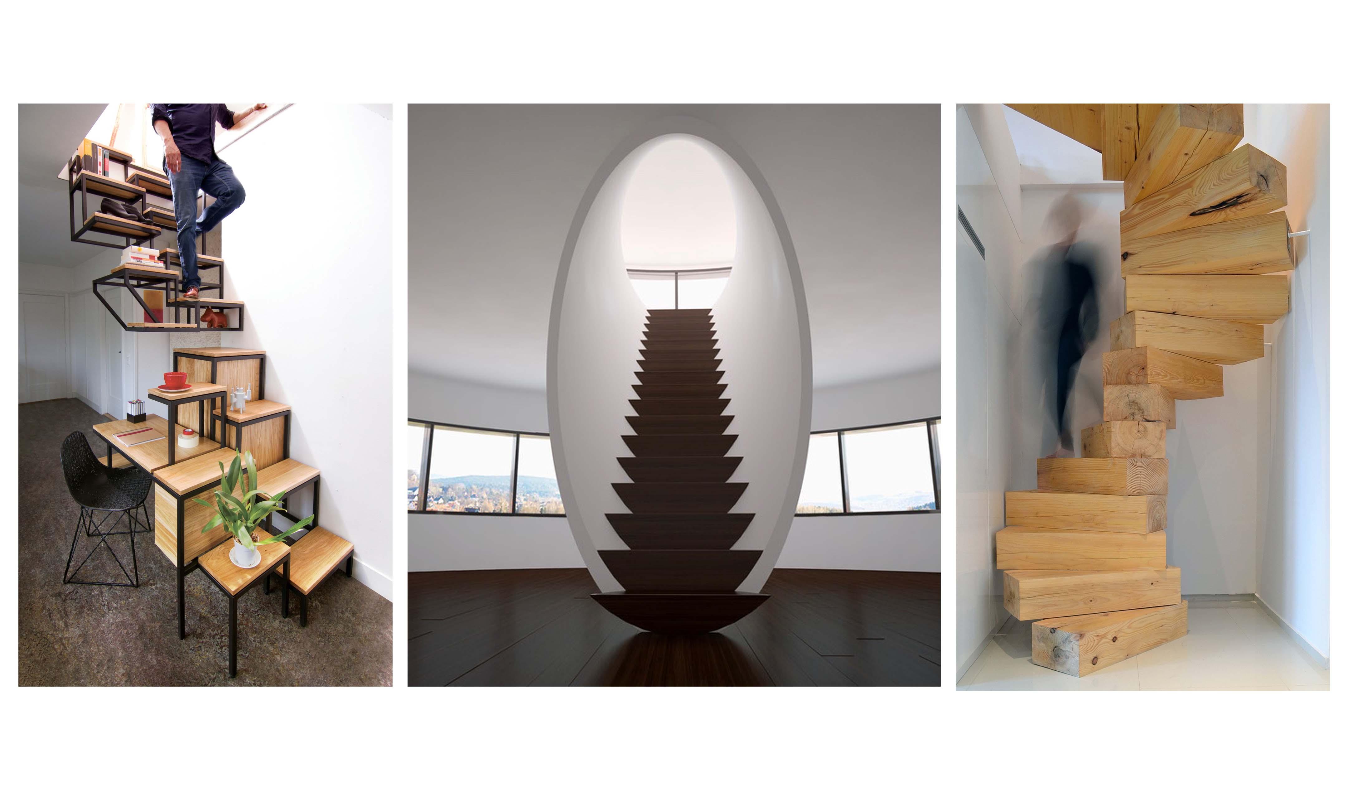 نگاهی به چند طراحی خلاقانه پله در فضای داخلی (بخش دوم)