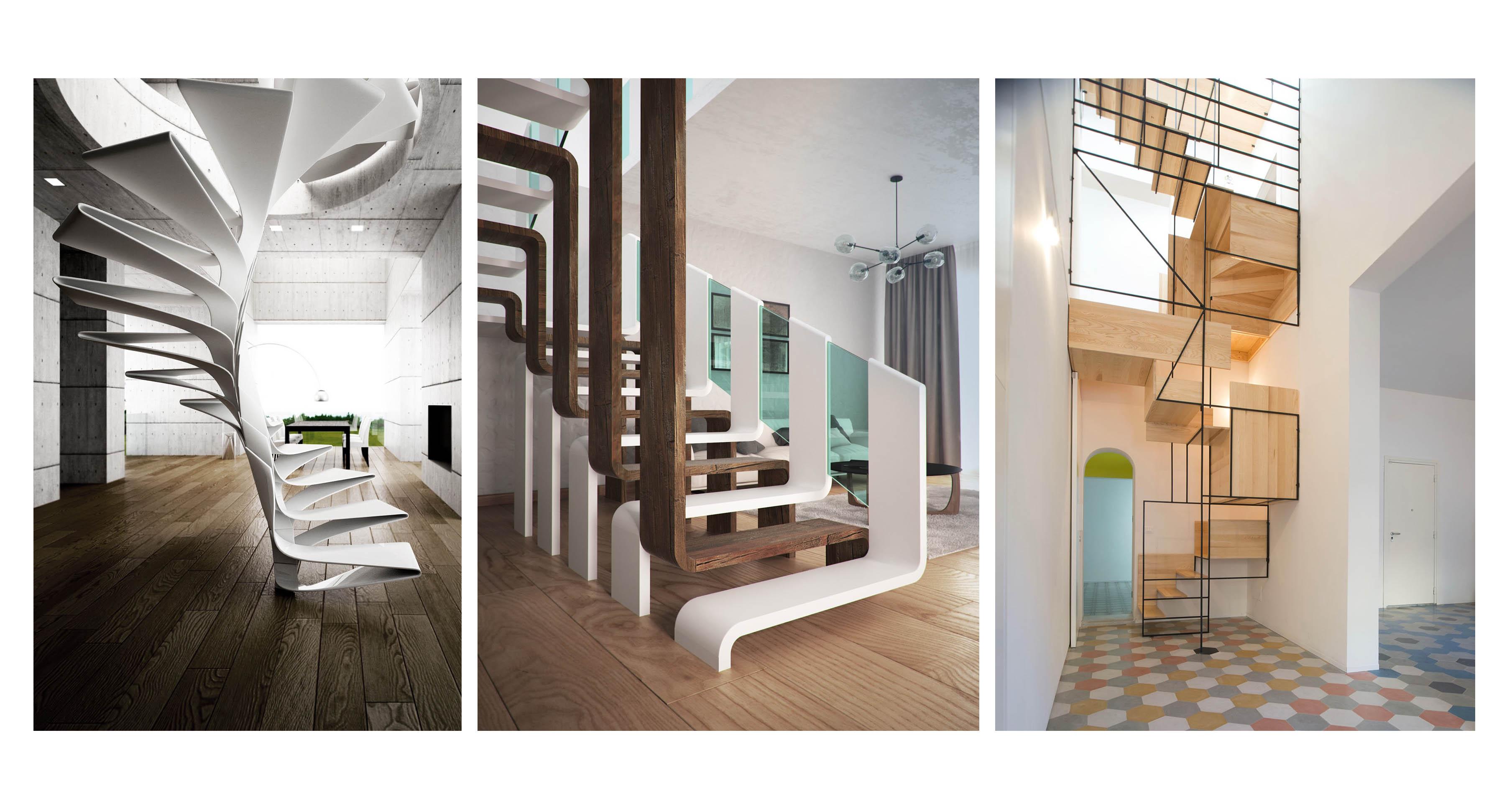 نگاهی به چند طراحی خلاقانه پله در فضای داخلی (بخش اول)